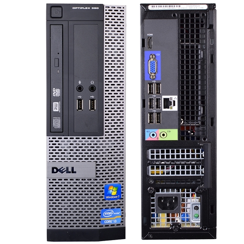 Системный блок DELL Vostro 3667 i5-6400 2.7GHz 4Gb 1Tb HD530 DVD-RW Linux клавиатура мышь черный 366