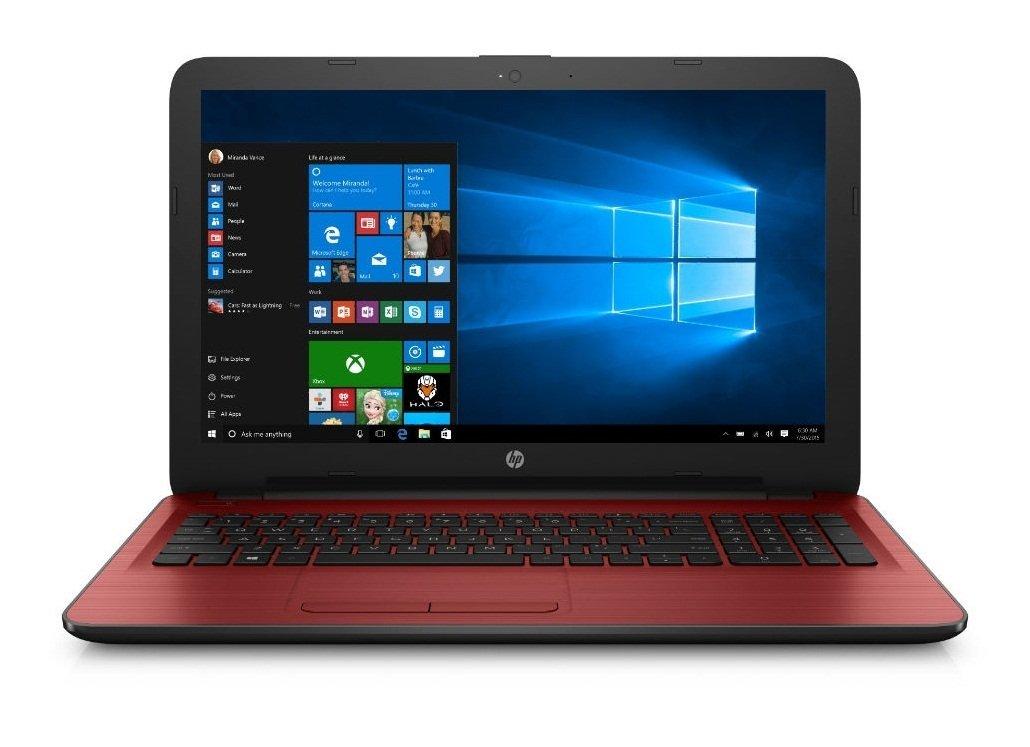 Red HP 15ay024na 15.6 8GB 2TB WebCam WiFi HDMI Bluetooth Windows 10 Laptop  eBay