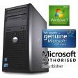 Complete set of Dell OptiPlex GX620 MT P4 HT 2.8GHz 1GB Windows 7 Tower Desktop PC