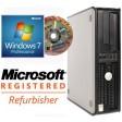 Dell OptiPlex 745 Core 2 Duo E6300 2GB Windows 7 Professional Desktop PC