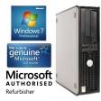 Dell OptiPlex 380 DT Core 2 Duo E7500 2.93GHz 2GB 160GB DVD Windows 7 Professional Desktop PC Computer