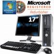 17-inch Monitor Dell OptiPlex 755 Core 2 Duo E4600 (2.40GHz) 2GB Windows 7 Professional