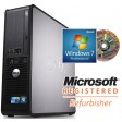 Dell OptiPlex 760 SFF Quad Core Q8300 2.50GHz Windows 7 Professional Desktop PC Computer