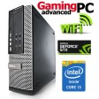 Gaming PC Dell Quad Core i7-2600 16GB 1TB GTX 1050 Ti WiFi Windows 10 64-Bit Desktop PC Computer