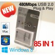 Addon USB 2.0 Multi Port All in One Card Reader 480Mbps ADDCR210