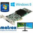 Matrox G550 32MB PCI-E LFH-60 Dual Display G55-MDDE32LPDF Graphics Card