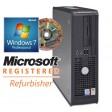 Dell OptiPlex GX520 SFF Dual Core 1GB DVD Windows 7 Professional Desktop PC Computer