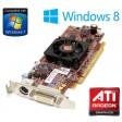AMD Radeon HD 4550 256MB PCI-E DMS-59 Dual Display Low Profile Graphics Card
