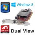 ATi Radeon HD3450 256MB DMS-59 PCI-e Dual View Graphics Card X399D