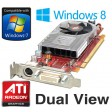ATi Radeon HD 3450 256MB DMS-59 PCI-e Dual View Low Profile Video Card Y103D