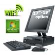 WiFi Enabled Windows 7 Desktop PC 17-inch LCD Screen 2GB Memory Computer
