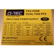 Q-Tec PS116 550W ATX PSU Power Supply