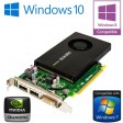 nVidia Quadro K2200 4GB GDDR5 PCI-E Dual DisplayPort DVI Graphics Card 0XFDRD