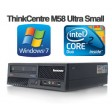 Lenovo ThinkCentre M58 Ultra Small Dual-Core E5400 4GB 160GB DVD Desktop PC Computer