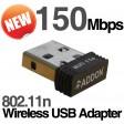 Addon Mini 150Mbps Wireless USB Adapter WiFi NANO Dongle 802.11n NWU275v2