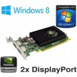 nVidia Quadro NVS 310 512MB PCI Express Dual 2x DisplayPort Low Profile Graphics Card