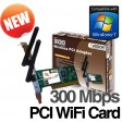 Addon 300Mbps WiFi Wireless N PCI Adapter Card 802.11n NWP210