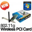 Dynamode WL-GI-600SMF 802.11g Wireless PCI Card with Fixed Antenna