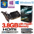 XFX Radeon R7 240D 2GB PCIe 4K HDMI DVI VGA Low Profile Gaming Graphics Card