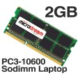 2GB PC3-10600 1333MHz 204Pin DDR3 Sodimm Laptop Memory RAM
