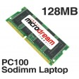 128MB PC100 100MHz 144Pin SDRAM Sodimm Laptop Memory RAM
