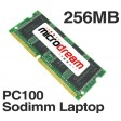 256MB PC100 100MHz 144Pin SDRAM Sodimm Laptop Memory RAM