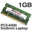 1GB PC2-6400 800MHz 200Pin DDR2 Sodimm Laptop Memory RAM