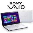 """Sony Vaio SVE1512B1EW 15.5"""" LED, i3-3110M 2.4GHz, 4GB, 750GB HDD, WebCam, Windows 8"""