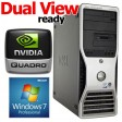 Dell Precision T3400 Workstation Core 2 Duo E6850 3.0GHz 4GB Windows 7 Professional 64bit