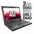 "Lenovo ThinkPad T400 2767 Core 2 Duo T9400 2.53GHz 2GB 160GB DVD±RW 14.1"" Windows 7"