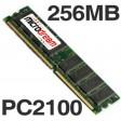 256MB PC2100 266MHz DDR 184Pin NON-ECC Desktop PC Memory RAM