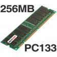 256MB PC133 133MHz SDRAM DIMM 168Pin NON-ECC Desktop PC Memory RAM