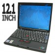 "IBM ThinkPad X41 12.1"" Pentium M 1.6GHz 1GB WiFi Windows 7 Laptop"