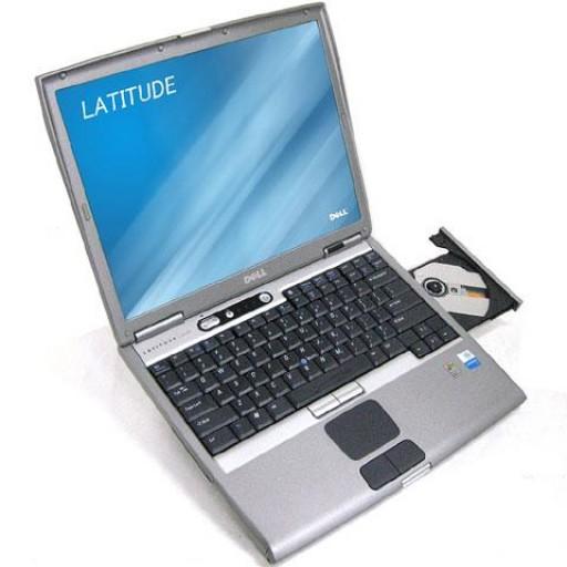 """Dell Latitude D600 Centrino 1.6GHz  WiFi DVD/CD-RW 14.1"""" XP Professional"""