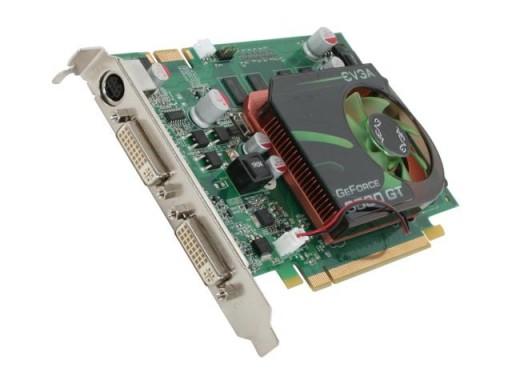 EVGA NVIDIA GeForce 9500 GT 1GB 128-Bit 2xDVI PCI-Express Graphics Card