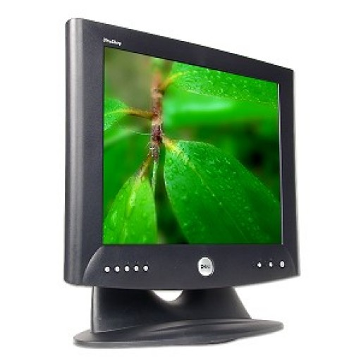 17-Inch Dell UltraSharp 1702FP DVI VGA LCD TFT Monitor