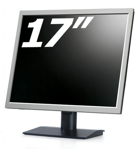 "17"" Inch Flat LCD Monitor VGA PC Computer 4:3 Display Screen (Various Brand)"
