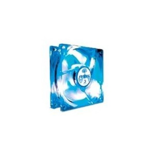 Antec 3 Speed PC Case Cooling Fan 120 x 25mm Blue LED