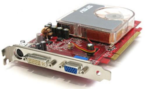Asus EAX1300PRO ATI Radeon X1300 Pro 256MB PCI-Express VGA DVI Graphics Card