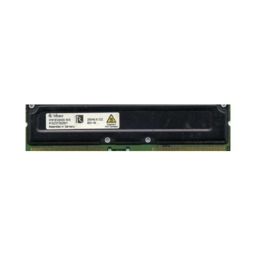 256MB RDRAM RAMBUS ECC 184Pin 800Mhz Infineon HYR1812840G-845