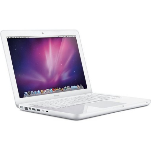 "Apple MacBook White 13.3"" A1342 Core 2 Duo 2.26GHz, 4GB Ram, 250GB, SuperDrive WebCam WiFi Notebook"