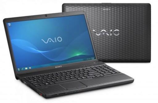 "Sony Vaio VPC-EH2A4E/B 15.5"" Laptop"