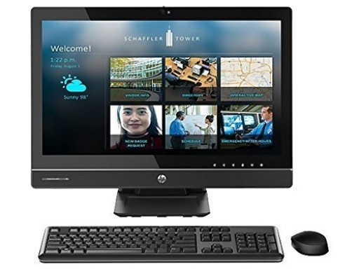 "HP EliteOne 800 G1 23"" All-in-One PC, Intel Core i5-4570s up to 3.6GHz, 8GB RAM, 500GB HDD, Bluetooth, USB 3.0, Windows 10 Professional"