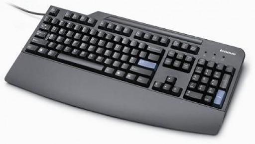 Lenovo ThinkPlus Preferred Pro USB UK Keyboard Business black