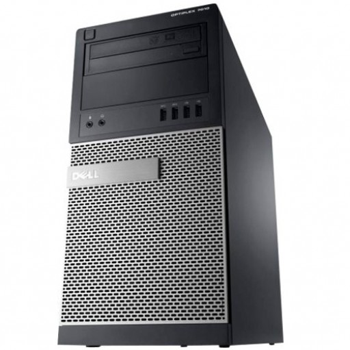 Dell OptiPlex 7010 MT 3rd Gen Quad Core i5-3470 8GB 500GB DVDRW Windows 10 Professional 64-Bit Desktop PC Computer