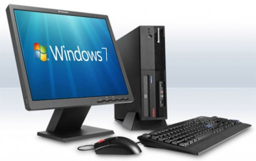 WiFi Enabled Windows 7 Desktop PC 17-inch LCD Screen 2GB Memory Computer