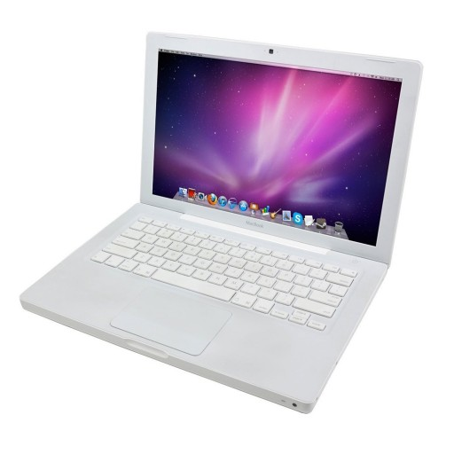 "Apple MacBook White A1181 - 13.3"", Core 2 Duo 1.83GHz, 2GB Ram, 160GB, DVD, Webcam, WiFi, Bluetooth, MacOS X 10.6 Snow Leopard"
