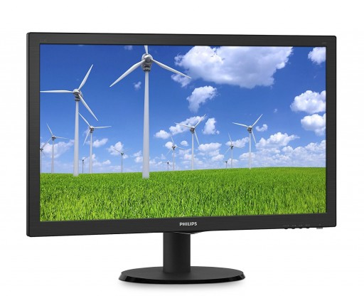 "22"" Philips 223S5LSB/00 Full HD 1920x1080 5ms VGA DVI Widescreen LED Monitor"