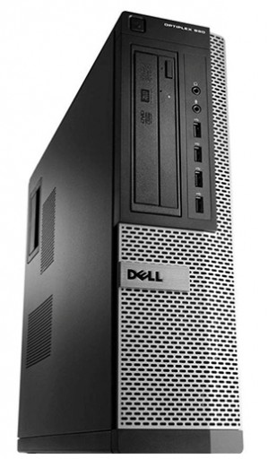 Dell OptiPlex 990 Quad Core i5-2400 4GB 250GB DVDRW Windows 10 Professional 64-Bit Desktop PC Computer
