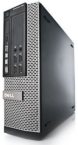 Dell OptiPlex 7010 SFF 3rd Gen Quad Core i5-3570 8GB 250GB DVDRW Windows 10 Professional 64-Bit Desktop PC Computer